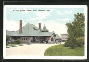 AK Kalamazoo, MI, Michigan Central Depot, Bahnhof