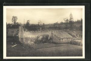 Foto-AK La Chaux de Fonds, Cyclone du 12 Juin 1926, Unwetter