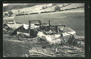 AK  La Chaux-de-Fonds, Cyclone du 23 Aout 1934, Convers-Hameau, Ferme Tschäppät