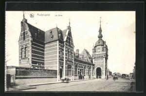 AK Audenarde, La Gare, Bahnhof