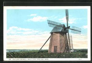 AK Cape Cod, MA, Old Cape Cod Mill, Built 1774, Windmühle