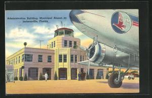AK Jacksonville, FL, Administration Building, Municipal Airport