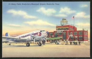 AK Nashville, TN, Berry Field, Nashville`s Municipal Airport, Flughafen, The Great Silver Fleet