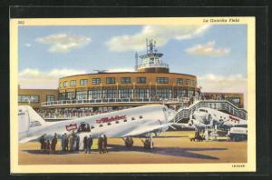 AK New York, NY, La Guardia Field, Flughafen, The Mainliner
