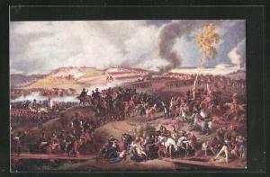 AK Bataille de la Moskowa, 7 Septembre 1812, nach Gemälde von Ch. Langlois