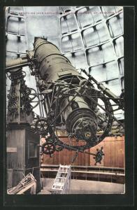AK Mt. Hamilton, CA, Thirty-Six Inch Refractor Lick Observatory, Teleskop