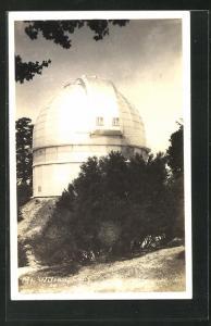 Foto-AK Wilson, CA, Observatorium, Sternwarte