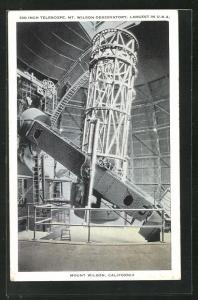 AK Mount Wilson, CA, 100 Inch Telescope, Observatorium