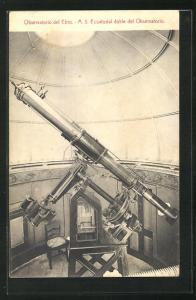 AK Observatorio del Ebro, Sternwarte, Teleskop