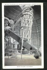 AK Mount Wilson, CA, 100 Inch Telescope, Sternwarte, Observatorium