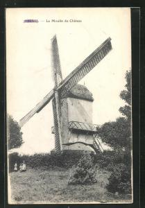 AK Cassel, Le Moulin du Château, Windmühle