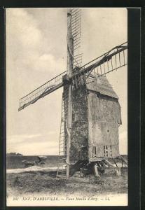 AK Arry, Vieux Moulin, Windmühle