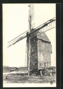 AK Arry, Vieux Moulin, Motiv der alten Windmühle