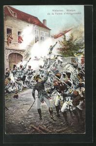AK Waterloo, Attaque de la Ferme d`Hougoumont