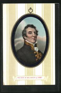 AK The Duke of Wellington, Gemälde nach Isabey