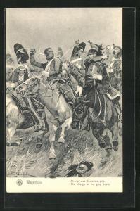 AK Waterloo, Charge des Ecossais gris, Befreiungskriege