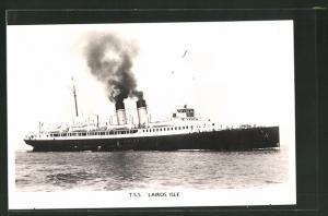 AK Passagierschiff T.S.S. Lairds Isle in voller Fahrt