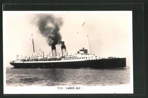 AK Passagierschiff T.S.S. Lairds Isle im ruhigem Gewässer