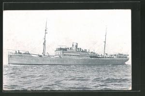 AK Passagierschiff Vapor Tejde auf hoher See fahrend