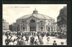 AK Troyes, Le Cirque Municipal, Zirkus