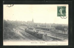 AK Saint-Just, La Gare