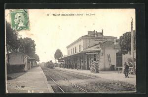 AK Saint-Marcellin, La Gare