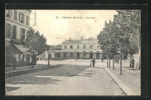 AK Chartres, La Gare