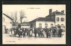 AK Fismes, La Gare