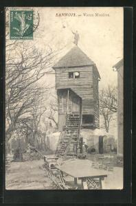 AK Sannois, Vieux Moulins, Windmühle