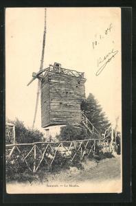 AK Sannois, Le Moulin, Windmühle