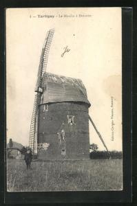 AK Tartigny, Le Moulin à Brouette, Alte Windmühle