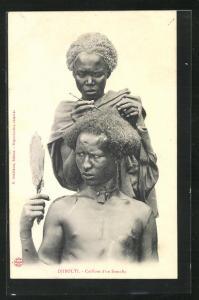 AK Djibouti, Coiffure d`un Somalis