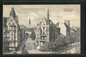 AK Berlin-Charlottenburg, Scharrenstrasse Ecke Berlinerstrasse