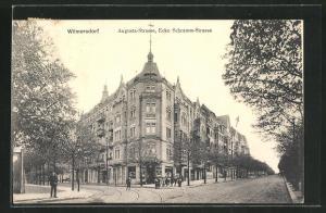 AK Berlin-Wilmersdorf, Augusta-Strasse Ecke Schramm-Strasse