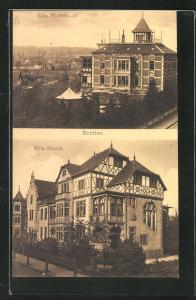 AK Bretten, Villa Harsch, Villa W. Schmidt