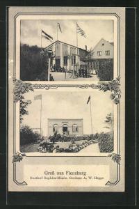 AK Flensburg, Gasthof Sophies-Minde von A. W. Hegge