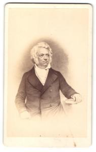 Fotografie Eduard Schultze, Heidelberg, Portrait Leopold Gmelin, Chemiker