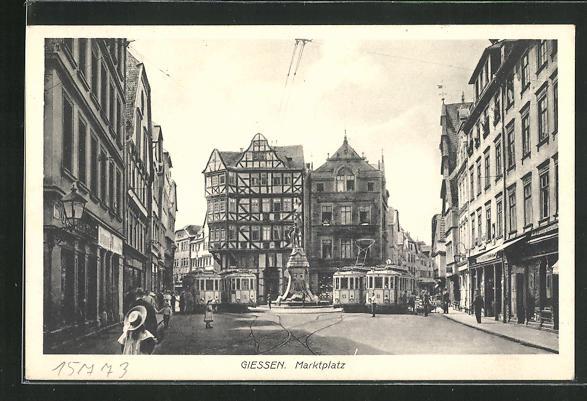 AK Giessen, Marktplatz 0