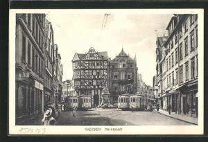 AK Giessen, Marktplatz