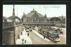 AK Halle a. S., Hauptbahnhof