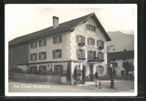 AK Mayenfeld, Gasthaus zum Ochsen von Jos. Zyndel
