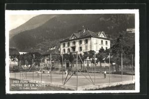 AK Piotta, Hotel de la Poste, Tennisplatz