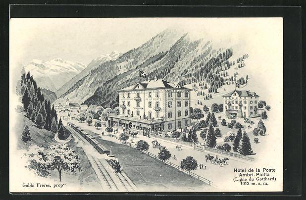 AK Ambri-Piotta, Hôtel de la Poste 0