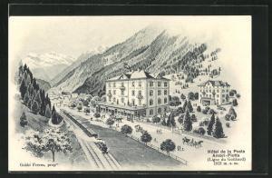 AK Ambri-Piotta, Hôtel de la Poste