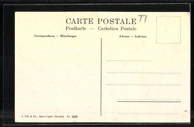 AK Ambri-Piotta, Hôtel de la Poste 1