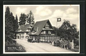 AK Immensee, Hotel Eiche und Post