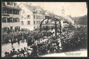 AK Luzern, Bero Münster, Auffahrtsprozession
