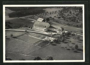 AK Flawil, Kantonale Landwirtschaftliche Schule vom Flugzeug aus