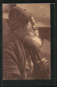 AK 110 Jahre alter Jude aus Tiberias