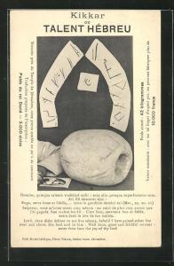 AK Jerusalem, gefundene Exponate im Tempel, Synagoge